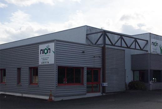 Les locaux de Nion entreprise de téléphonie et réseaux à Angers